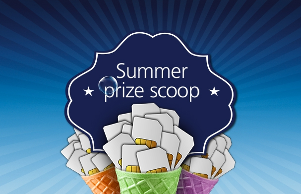 It's the Final Summer Scoop Prize draw