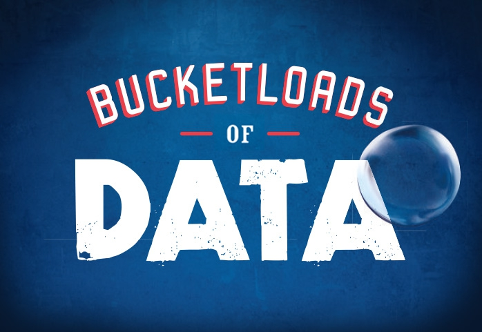 Give your customers bucketloads of data